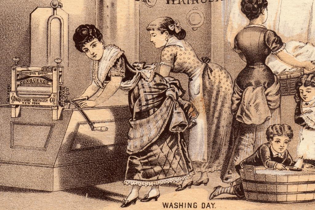 victorian-washing-day